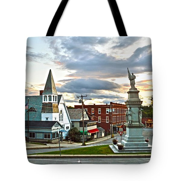 Middlebury Vermont At Sunset Tote Bag