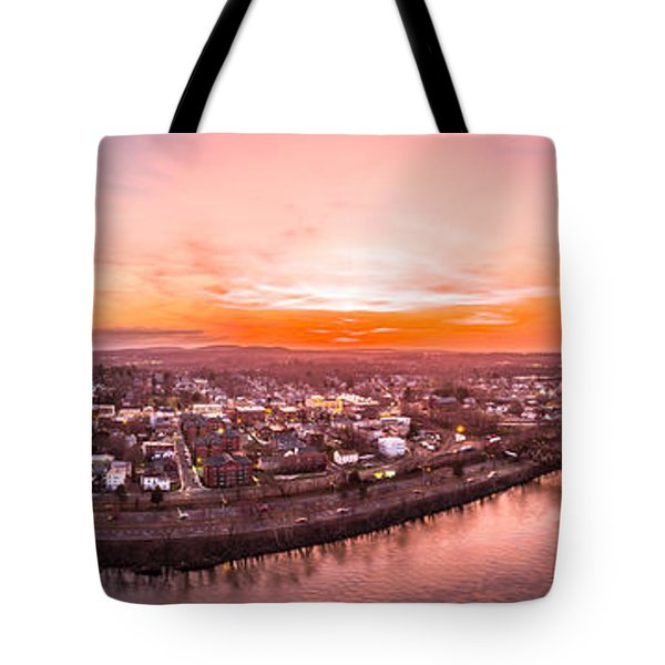 Middletown Connecticut Sunset Tote Bag by Petr Hejl
