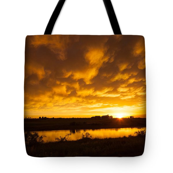 Midland Sunset Tote Bag