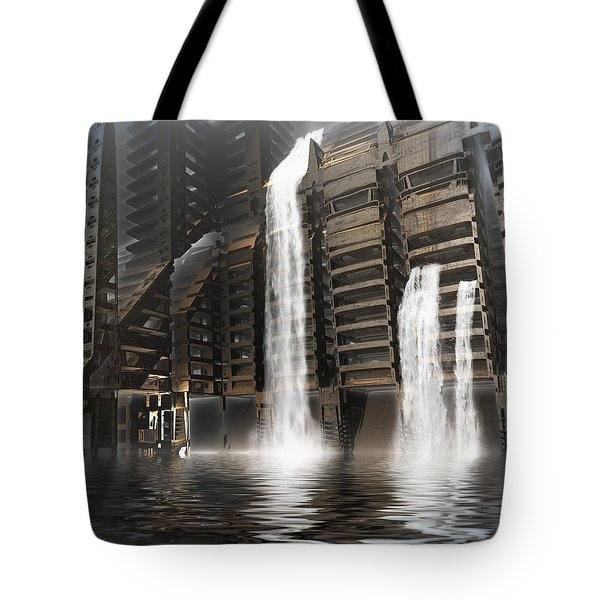 Midnight At The Dam Tote Bag