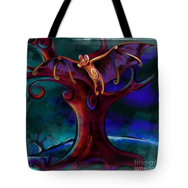 Midnight Bat Tote Bag