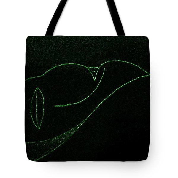 Tote Bag featuring the painting Midnight by Bill OConnor