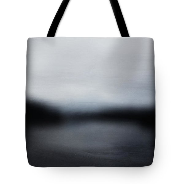 Midnight Blue- Abstract Art By Linda Woods Tote Bag