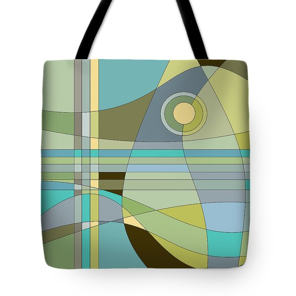Midnight Breeze Tote Bag by Val Arie