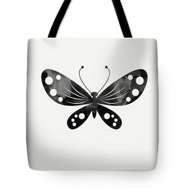 Midnight Butterfly 3- Art By Linda Woods Tote Bag