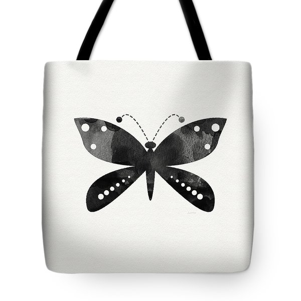 Midnight Butterfly 4- Art By Linda Woods Tote Bag