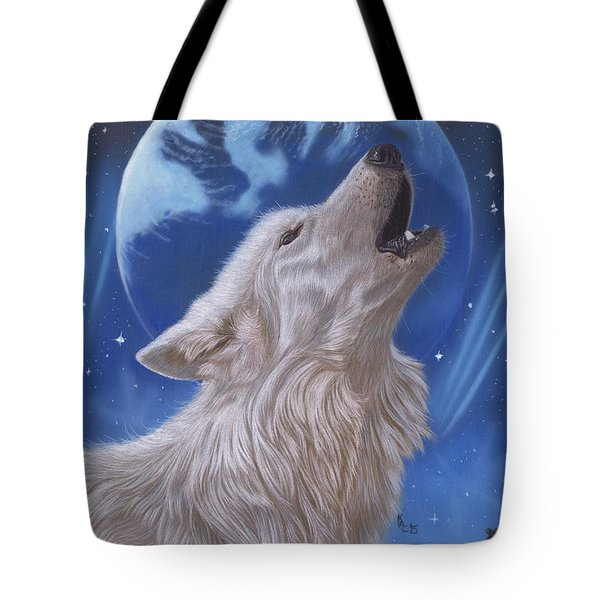 Midnight Caller Tote Bag