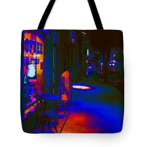 Midnight Coffee Dream Tote Bag