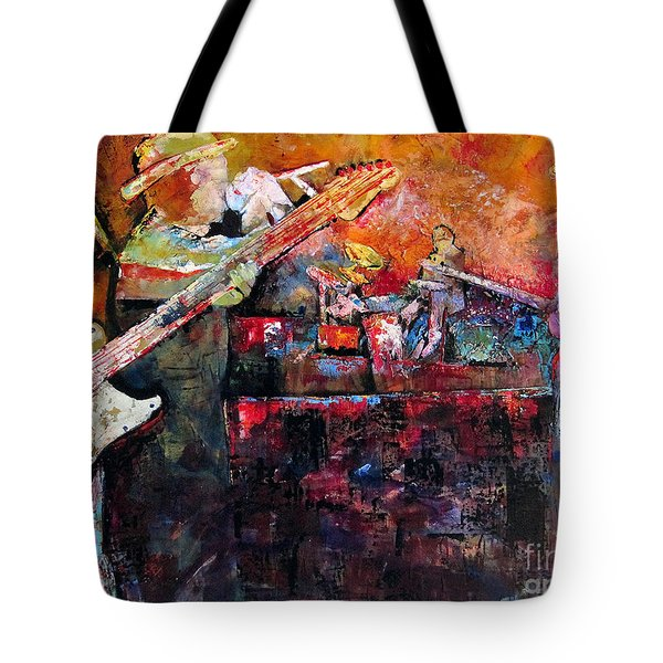 Midnight Ensemble Tote Bag