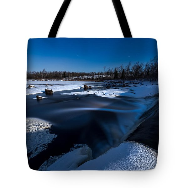 Midnight Falls Tote Bag