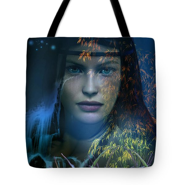 Midnight Gaia Tote Bag
