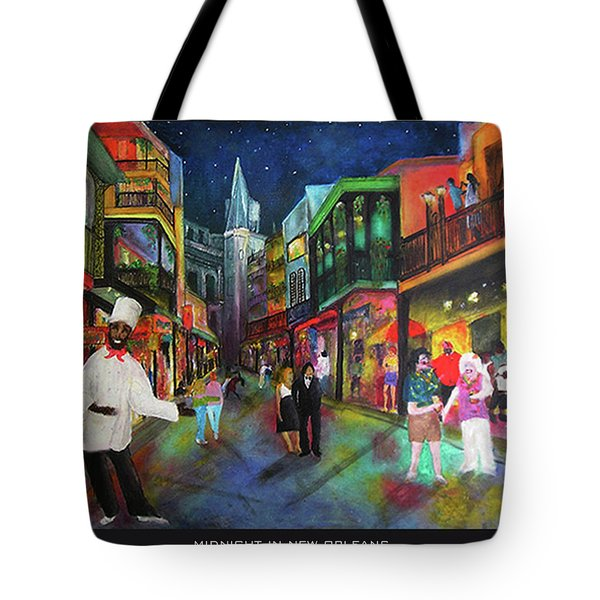 Midnight In New Orleans Tote Bag