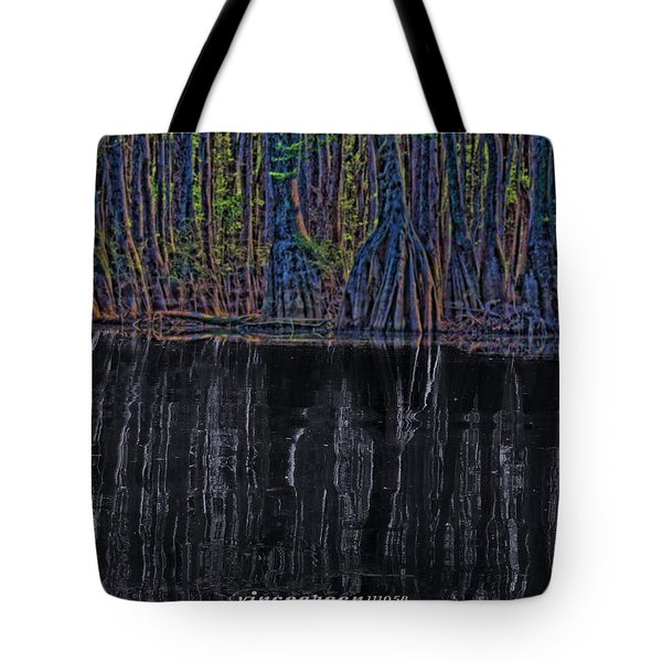 Midnight In The Land Of Hobbits And Faeries Tote Bag