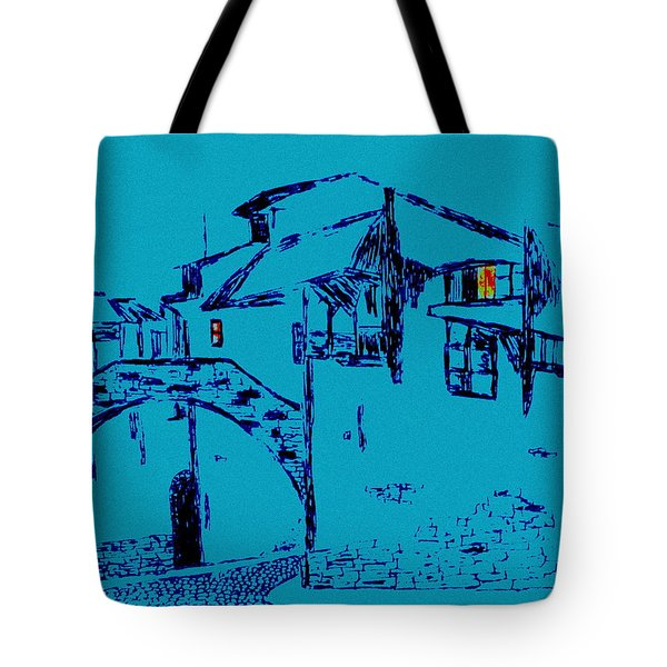 Midnight In Tuscany Tote Bag