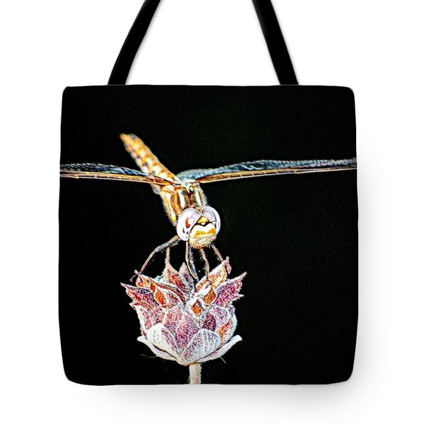 Midnight Landing Tote Bag