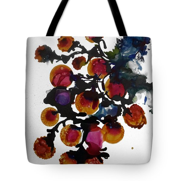 Midnight Magiic Bloom-1 Tote Bag by Alika Kumar