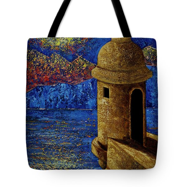 Midnight Mirage In San Juan Tote Bag