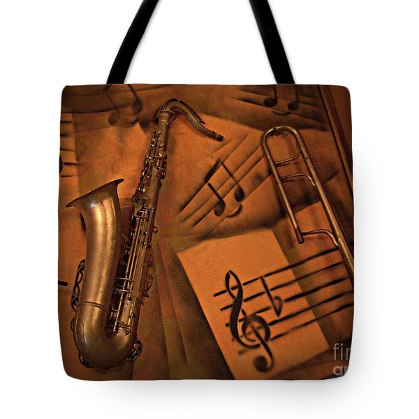 Midnight Music Tote Bag
