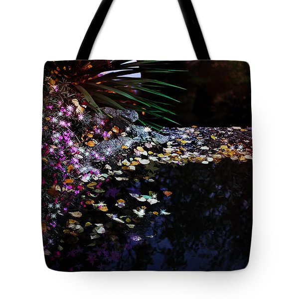 Midnight Oasis Tote Bag