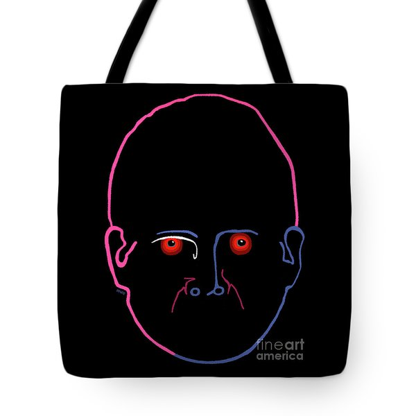 Midnight Rage Tote Bag