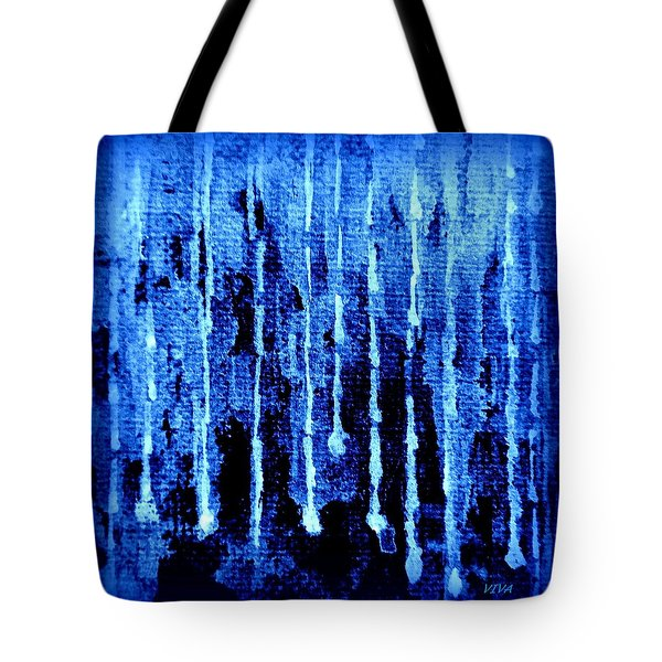 Midnight Rain Tote Bag