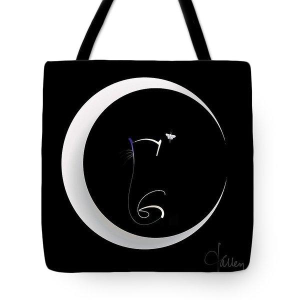 Moonlight Rendezvous 2 Tote Bag