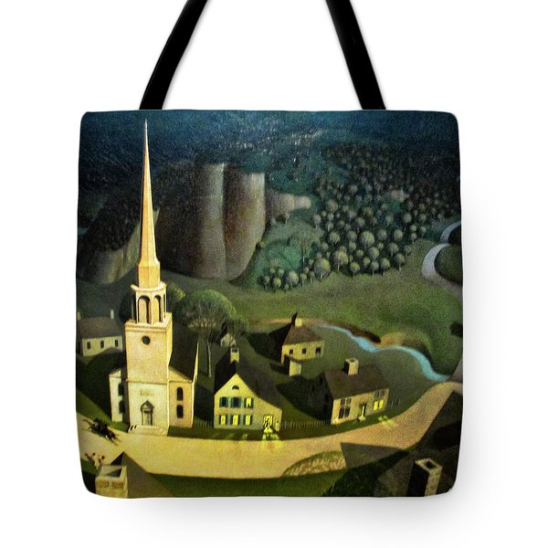 Midnight Ride Of Paul Revere Tote Bag