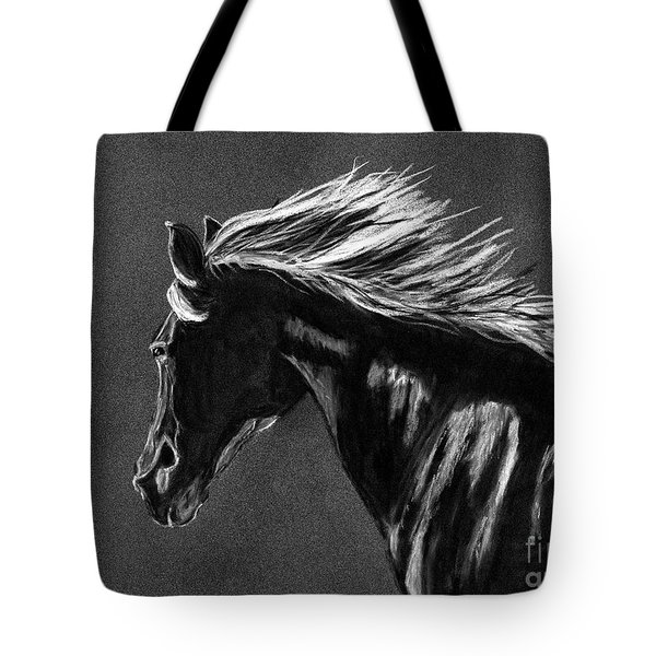 Midnight Ride Tote Bag