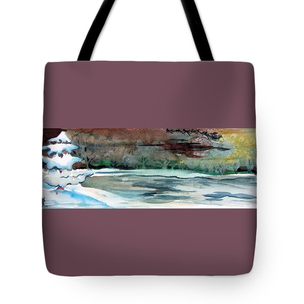 Midnight Rider Tote Bag