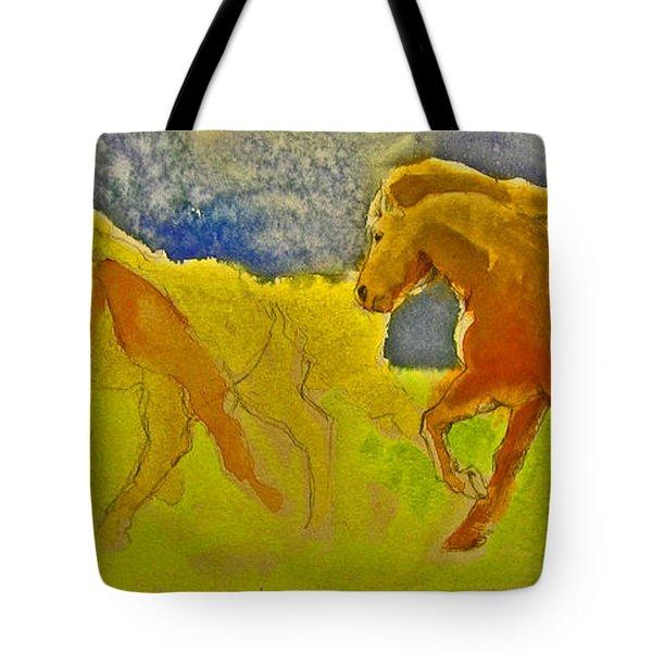 Midnight Run Tote Bag by Linda Kay Thomas