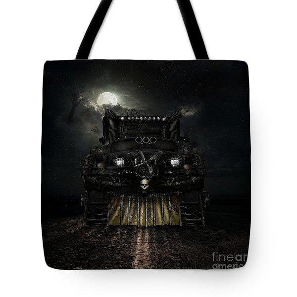 Midnight Run Tote Bag