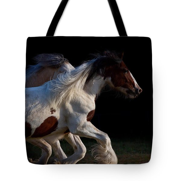 Tote Bag featuring the photograph Midnight Run by Sharon Jones