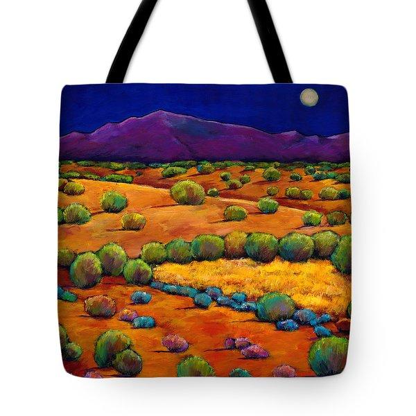 Midnight Sagebrush Tote Bag