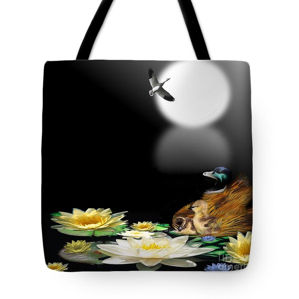 Midnight Serenity Tote Bag