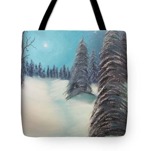 Midnight Silence Tote Bag