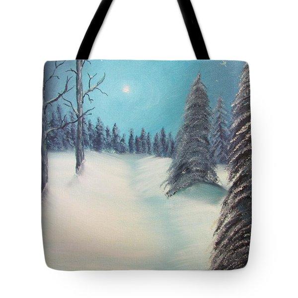 Midnight Silence Tote Bag by Thomas Janos