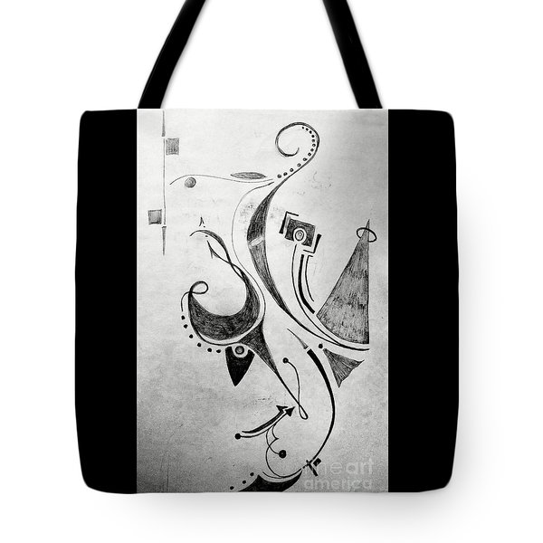 Midnight Study 1 Tote Bag