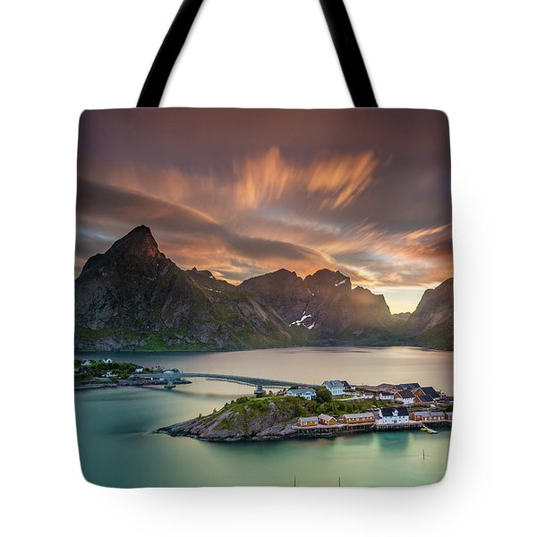 Midnight Sun Galore Tote Bag