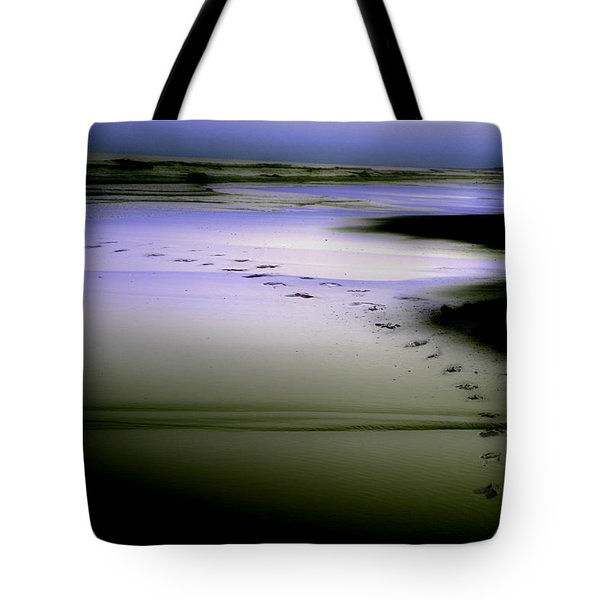 Tote Bag featuring the photograph Midnight Swim by Gray  Artus
