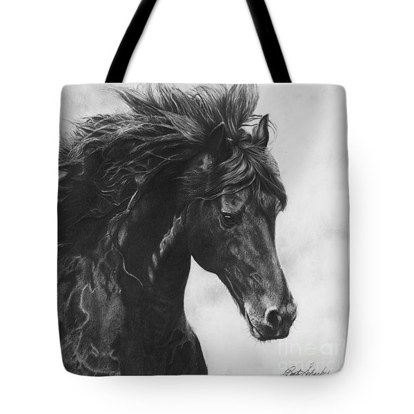 Midnight Thunder Tote Bag