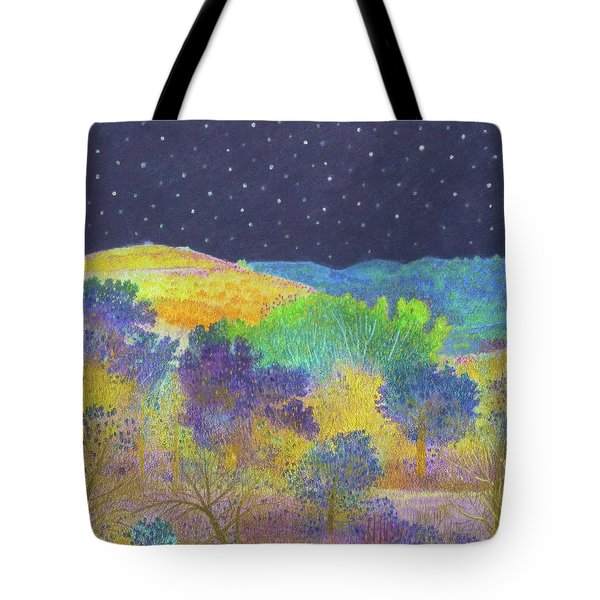 Midnight Trees Dream Tote Bag