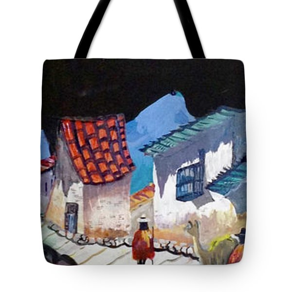 Midnight Walk In Peru Tote Bag