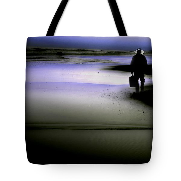 Midnight Wanderer Tote Bag by Gray  Artus