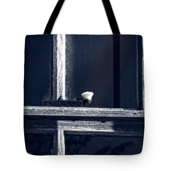 Midnight Window Tote Bag