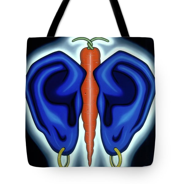 Midreal Butterfly Tote Bag