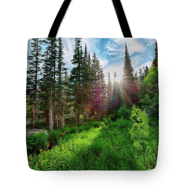 Tote Bag featuring the photograph Midsummer Dream by David Chandler