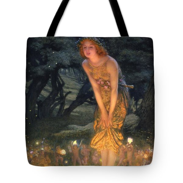 Midsummer Eve Tote Bag by Edward Robert Hughes