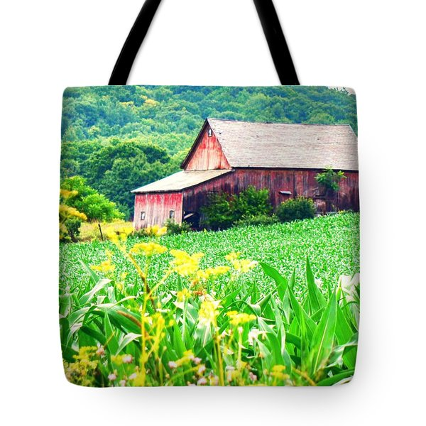 Tote Bag featuring the photograph Midsummer  by Kendall McKernon