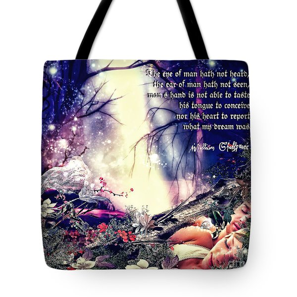 Midsummer Night Dream Tote Bag