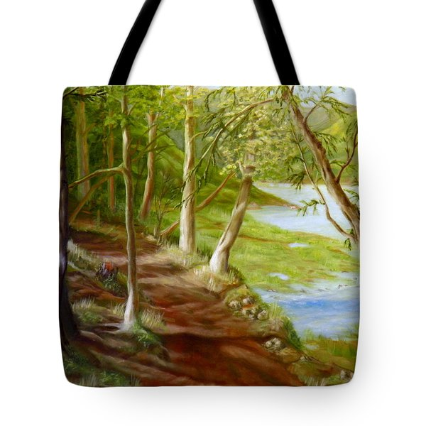 Midsummer Walk Tote Bag